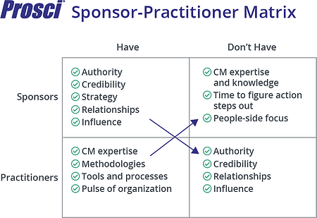 Sponsor-Practitioner Matrix-Crossover