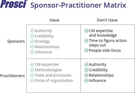 Sponsor-Practitioner Matrix-Dont-Haves