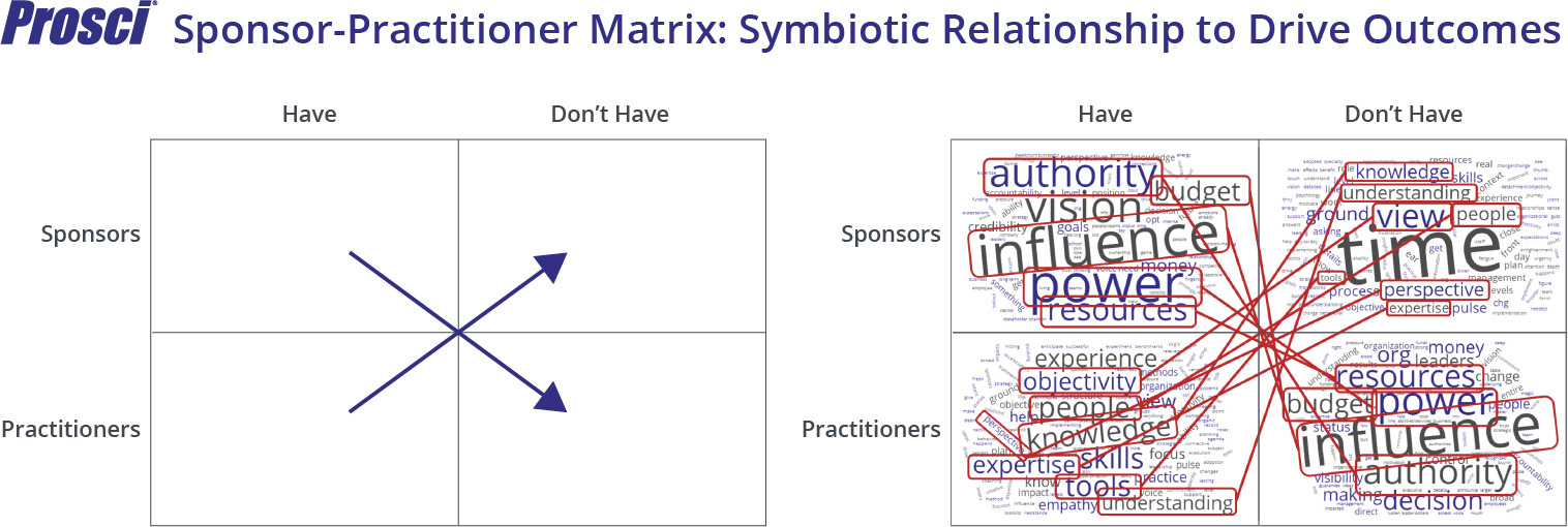 Sponsor-Practitioner Matrix-Symbiotic Relationship to Drive Outcomes