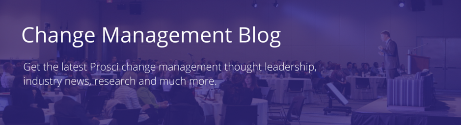 Prosci Change Management Blog