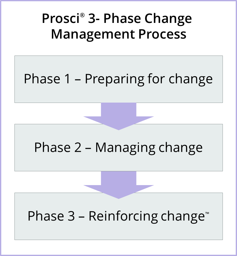 nine phase change model process For lewin, the process of change entails creating the perception that a change is needed, then moving toward the new, desired level of behavior and, finally, solidifying that new behavior as the norm.