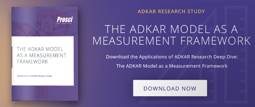 "Download ""The ADKAR Model as a Measurement Framework"" research deep dive"