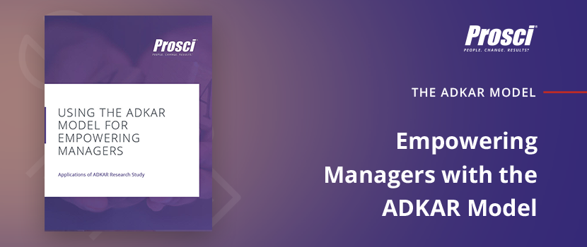 "Download ""Empowering Managers with the ADKAR Model"" research deep dive"