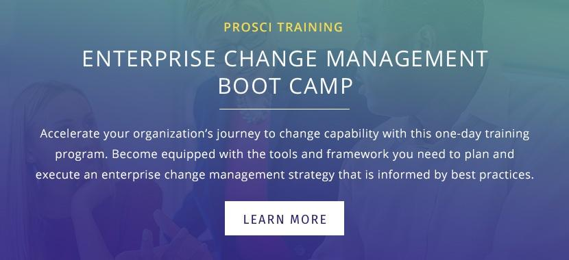 Enterprise Change Management Boot Camp