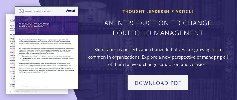 Intro to Change Portfolio Management