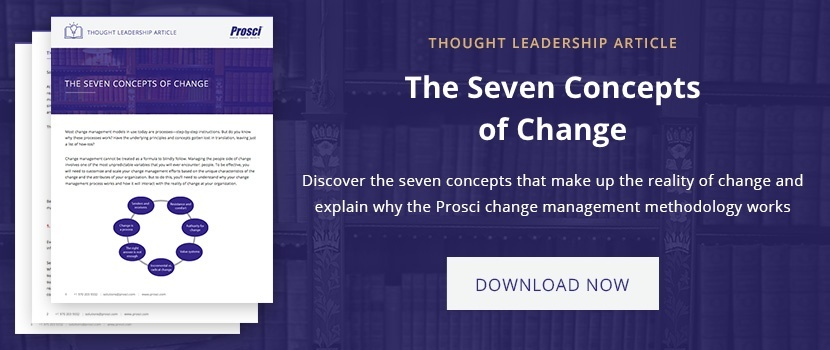 The Seven Concepts of Change PDF